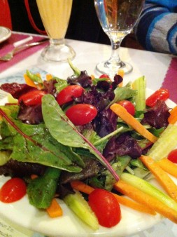 Mixed greens and Veg salad_Himalayas